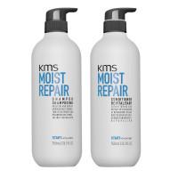 KMS Moist Repair Shampoo & Conditioner  750ml