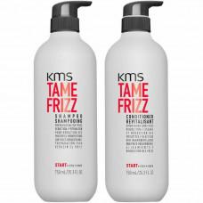 KMS Tame Frizz Shampoo & Conditioner  750ml