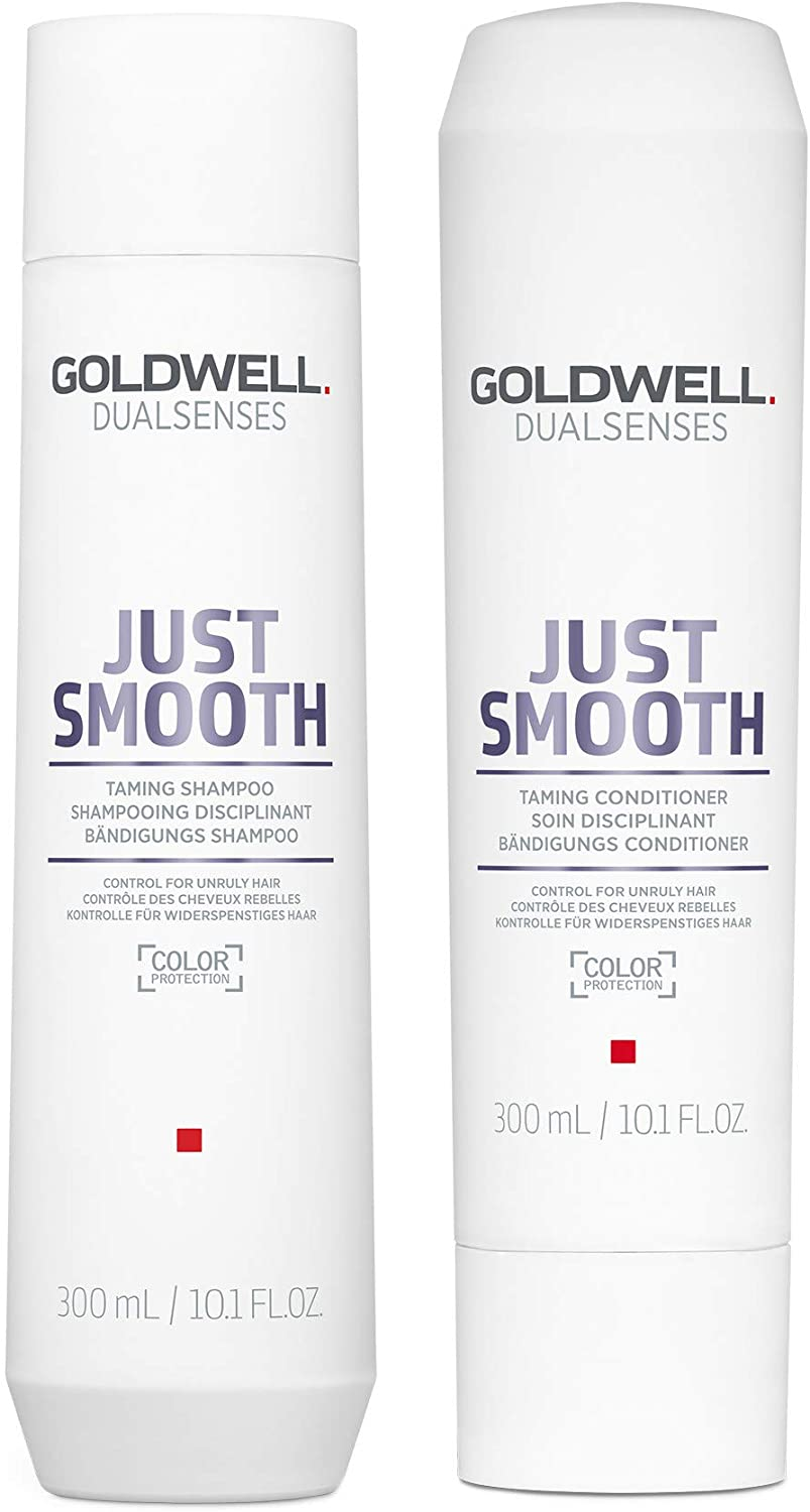 Goldwell Dualsenses Just Smooth Taming Shampoo & Conditioner 300ml
