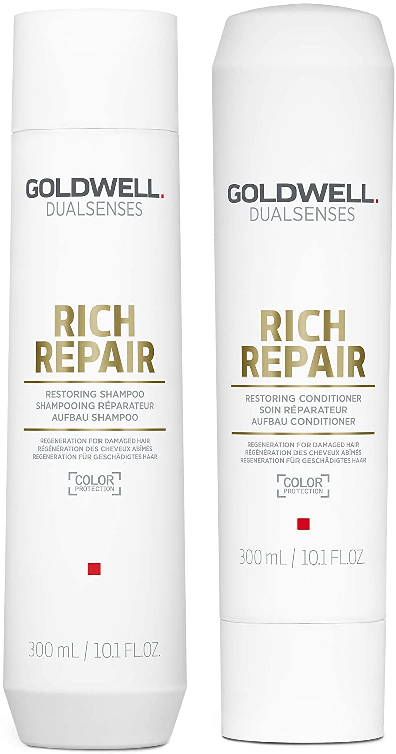 Goldwell Dualsenses Rich Repair Restoring Shampoo & Conditioner 300ml