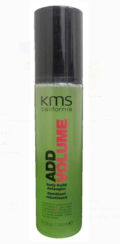 KMS AddVolume Body Build Detangler (Conditioner)